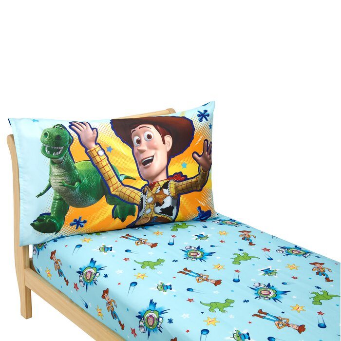 Disney Toy Story Power Up 2 Piece Toddler Bedding Set