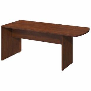 Bush Business Furniture Series C Elite Peninsula Executive Desk