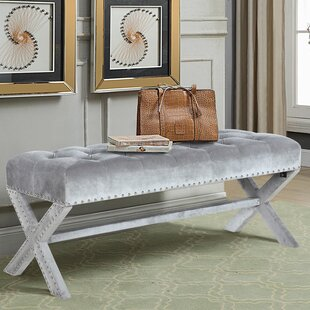 House of Hampton Marston Moretaine Upholstered Bench