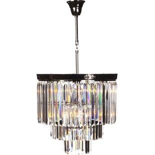 Vanersborg 1-Light Crystal Pendant by Stilnovo