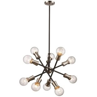 Wrought Studio Erik 10-Light Chandelier