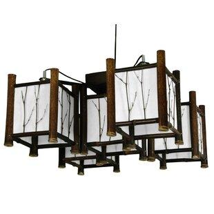 World Menagerie Diane 5-Light Hanging Lantern Chandelier
