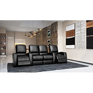 Storm XL850 Home Theater Loveseat (Row of 4) by Octane Seating