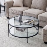 Cherle Coffee Table with Storage by Latitude Run®