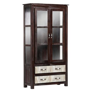Ailey Standard Curio Cabinet By Bloomsbury Market