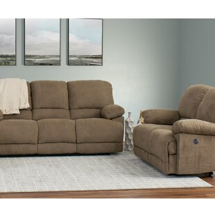 Condron Reclining 2 Piece Living Room Set (Set of 2)