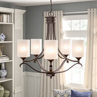 Suki 5-Light Shaded Chandelier by Andover Mills