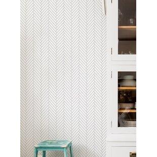 Mckillip Herringbone 4 L X 24 W Tile And Stick Wallpaper Roll