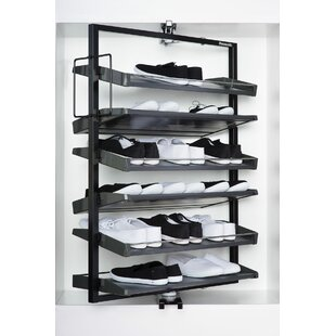 Affordable 24 Pair Revolving Shoe Rack By Richelieu