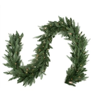 Pre-Lit Washington Frasier Fir Artificial Christmas Garland