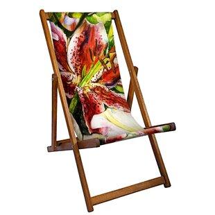 Martino Reclining Deck Chair By Mercury Row