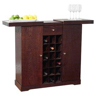 Vitiello Bar with Wine Storage