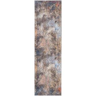 Foresta Blue/Brown Area Rug by Trent Austin Design