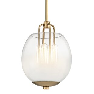 Evony 4-Light Urn Pendant by Willa Arlo Interiors