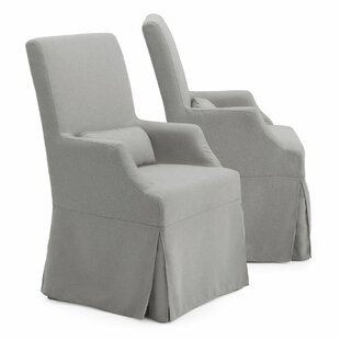 Milo Upholstered Dining Chair (Set of 2) One Allium Way