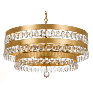 Mercer41 Opal 6-Light Drum Chandelier