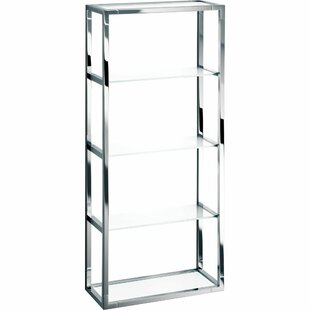 Symple Stuff Knuth 4 Tier Frosted Glass B..