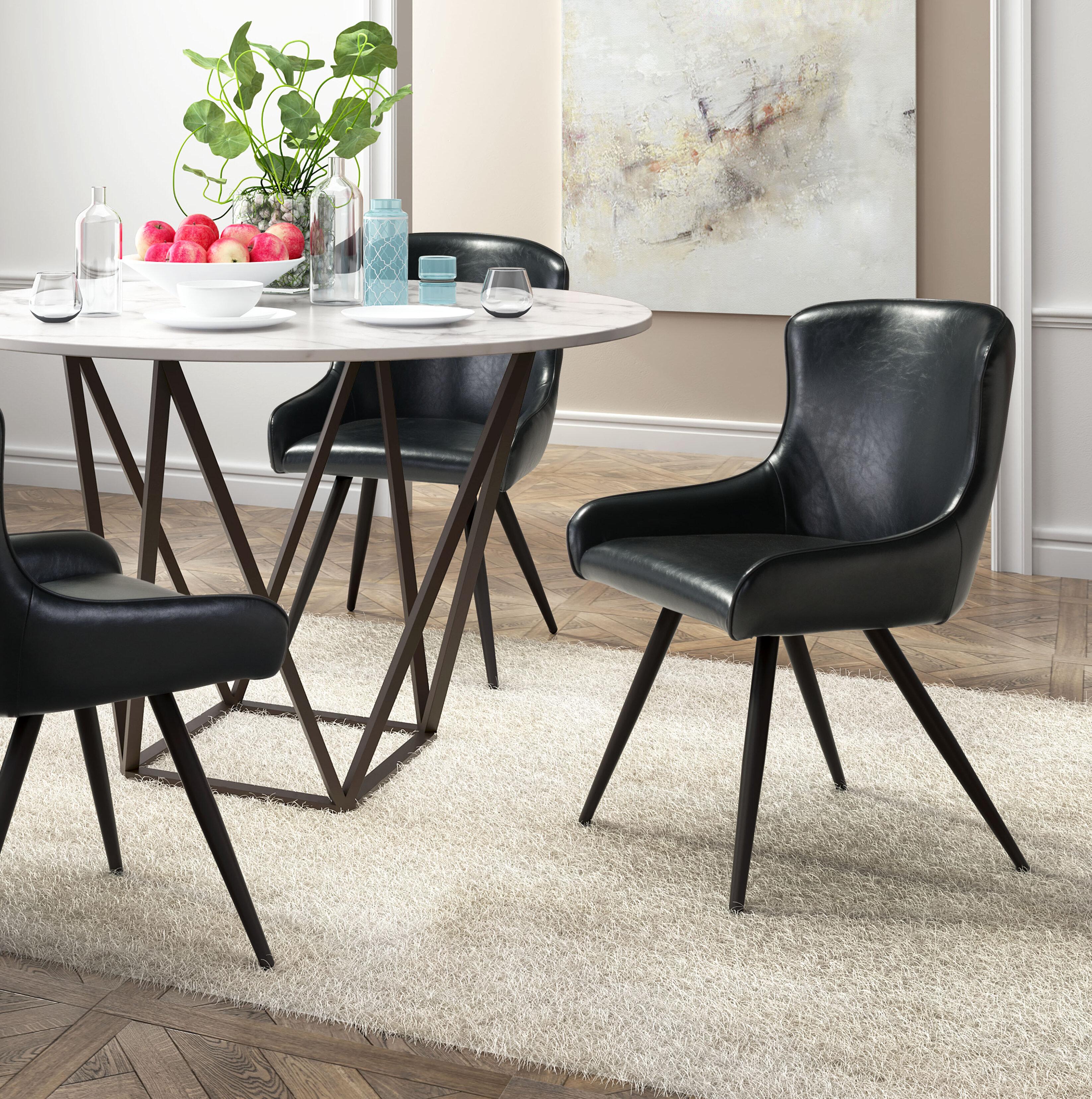 Brayden Studio Francesca Dining Arm Chair Wayfair