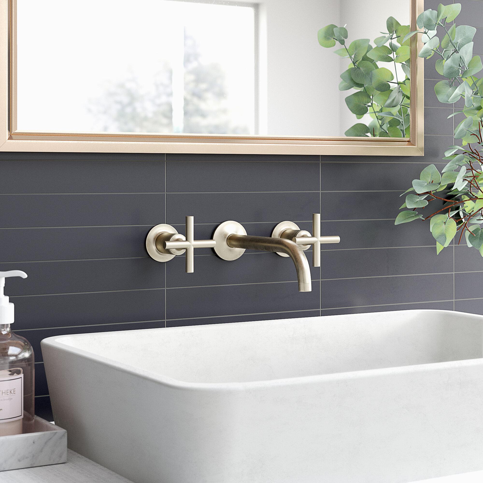 Purist Wall Mounted Bathroom Faucet Reviews Allmodern