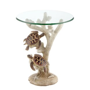 Sabina Turtle End Table by Highland Dunes