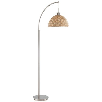 Derrell 61 arched floor lamp
