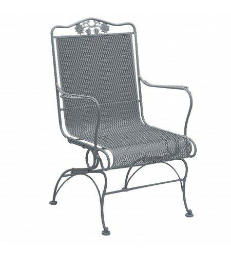 Woodard Briarwood Coil Spring High Back Patio Chair Reviews Wayfair