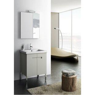 New York 2 23 Single Bathroom Vanity Set with Mirror by ACF Bathroom Vanities