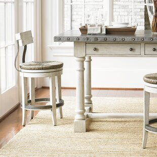 Great choice Oyster Bay 24 Swivel Bar Stool by Lexington Reviews (2019) & Buyer's Guide