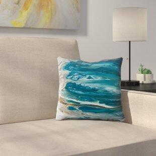 Ambiance of the Ocean Throw Pillow