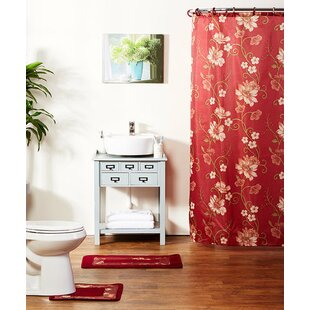 Best Reviews Shaelyn 15-Piece Shower Curtain Set ByWinston Porter