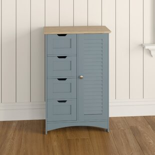 Cantonment 55 X 83cm Free Standing Cabinet By VonHaus
