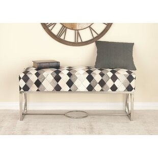 Leather Bench by Cole & Grey