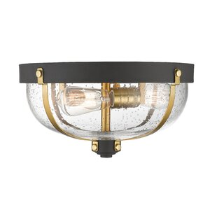 Breakwater Bay Lyndsey 3-Light Flush Mount