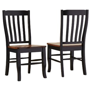 Courtdale Solid Wood Dining Chair (Set of..
