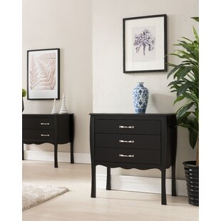 Bachus 3 Drawer Chest By ClassicLiving