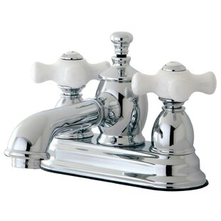 Kingston Brass English Country Centerset Bathroom Faucet with Drain Assembly Image