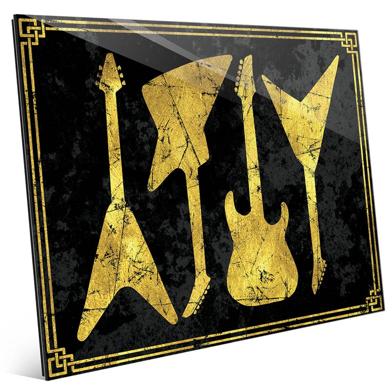 Fine Guitar Wall Art Pictures - Wall Art Collections ...