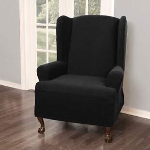 T-Cushion Wingback Slipcover