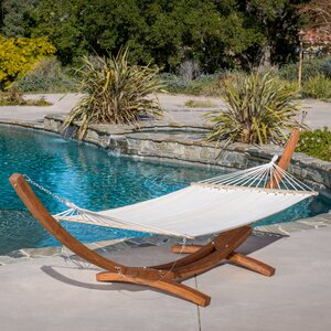 Kouklia Canvas Hammock with Stand