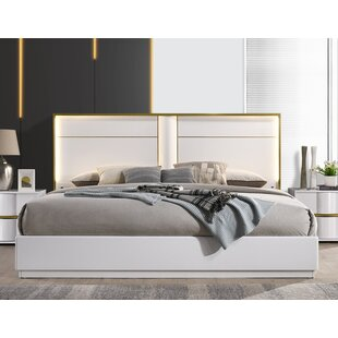 Kumail Platform Bed by Orren Ellis Wonderful