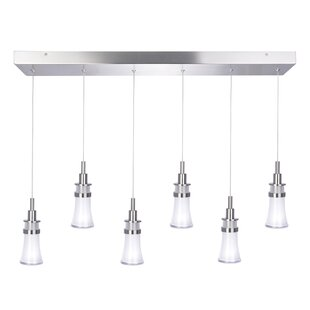 Artcraft Lighting Destiny 6-Light LED Kitchen Island Pendant