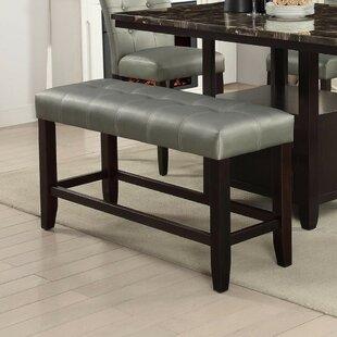 Parenteau Upholstered Bench by Winston Porter