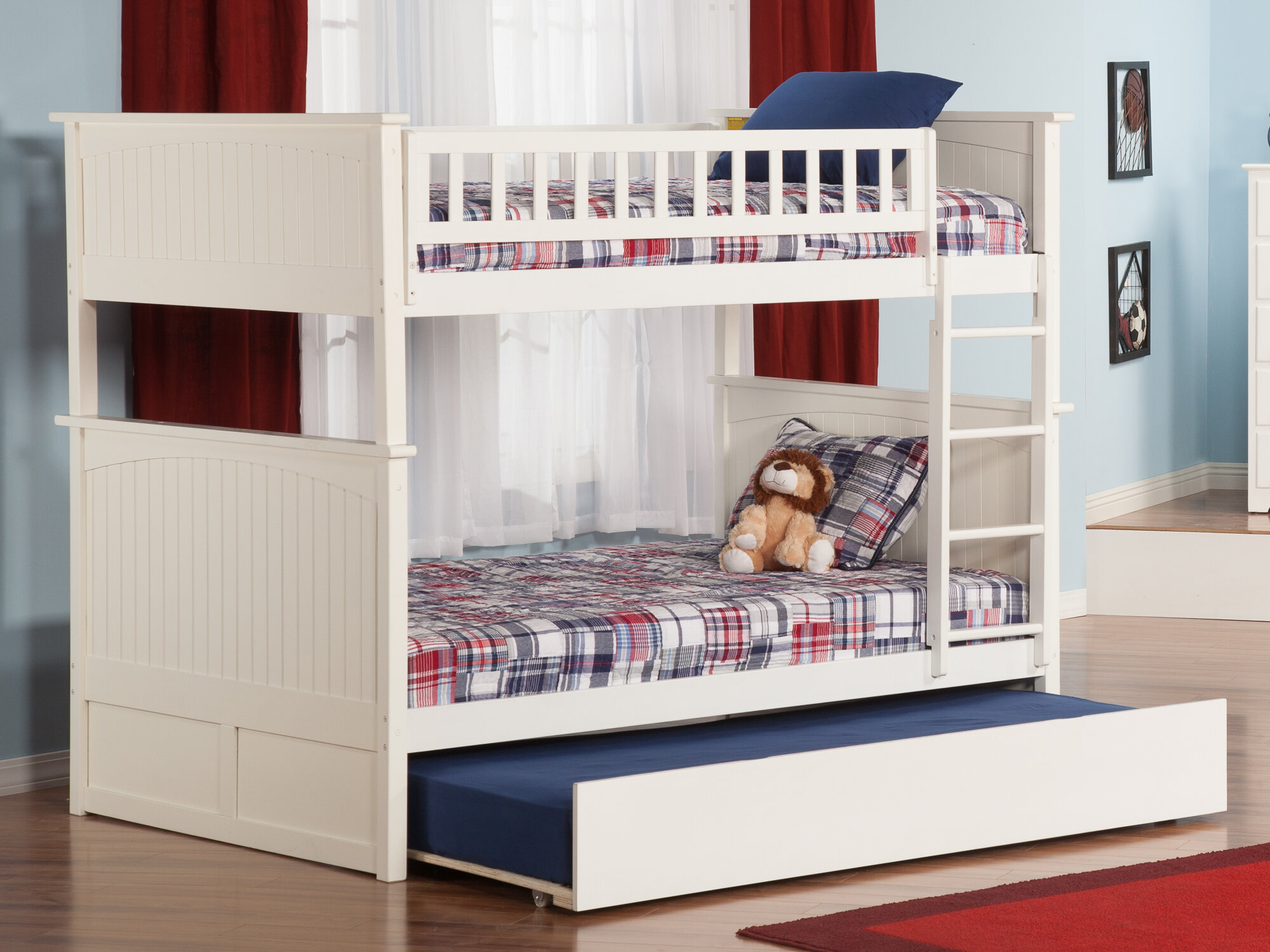 Viv Rae Maryellen Twin Over Full Bunk Bed With Trundle Reviews