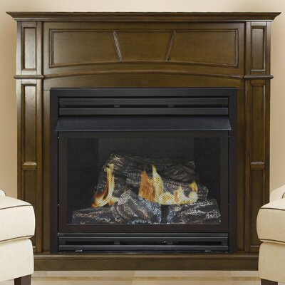 Shelli Vent Free Propane Fireplace Darby Home Co Finish: Rich Heritage