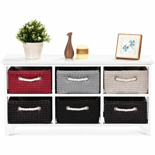 Maplesville Wicker Basket 6 Drawer Accent Chest