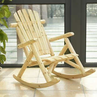 Pretor Rocking Chair by Loon Peak