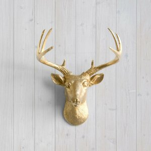 Virginia Faux Taxidermy Mini Deer Head Wall Du00e9cor
