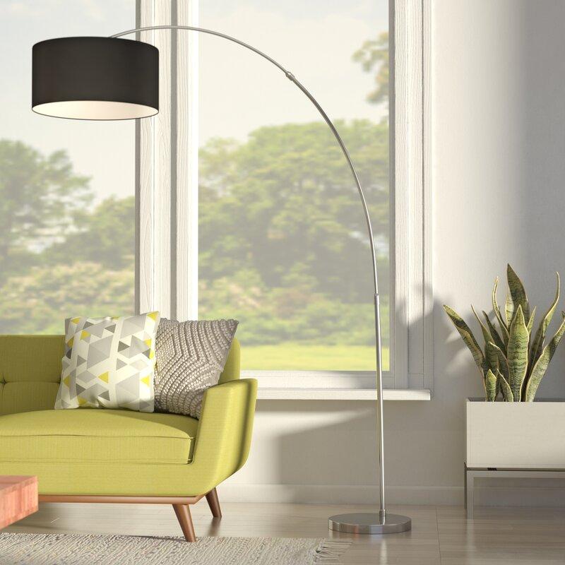 modern lamps for living room.  Floor Lamps You ll Love Wayfair
