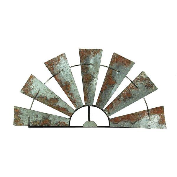 WINDMILL Galvanized Rustic Industrial Look Metal WALL HOOK