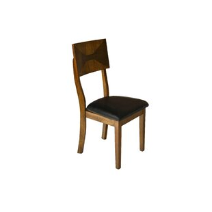 Lenka Solid Wood Dining Chair (Set of 2) Red Barrel Studio